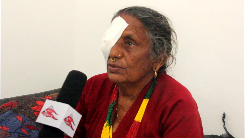 Free Eye Surgical Campaign - Myagdi
